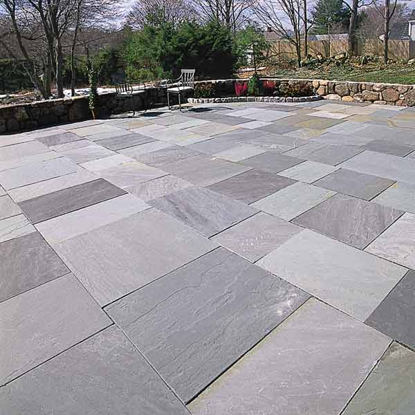 stone patio 