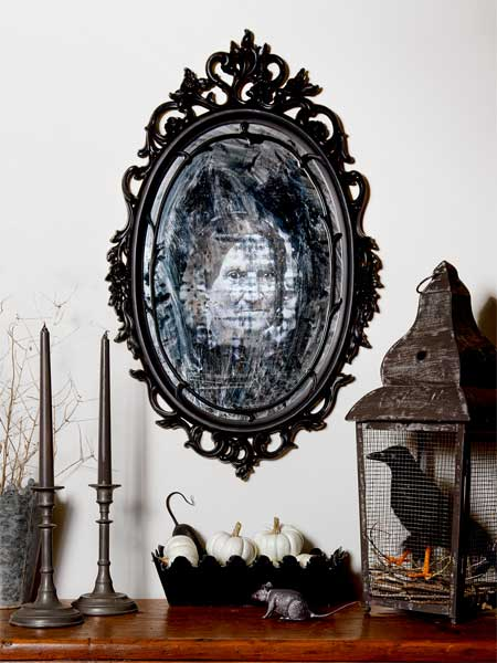 Eerie mirror october's selection from A Year's Worth of Easy Upgrades gallery from this old house