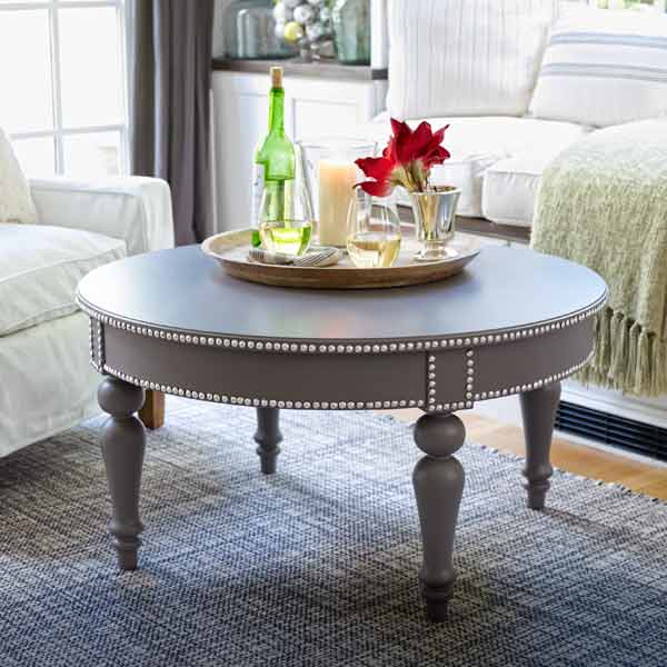 Dress up a Plain Table: November's selection from A Year's Worth of Easy Upgrades gallery from this old house