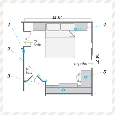 guest bedroom remodel floor plan after