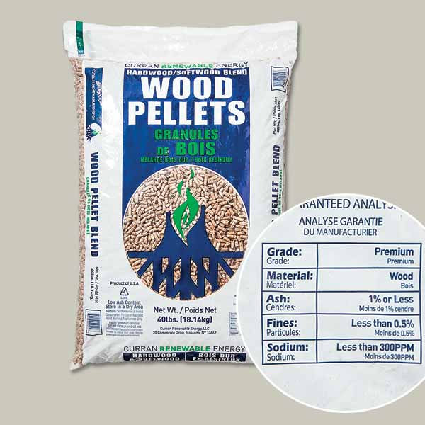 bag of pellets