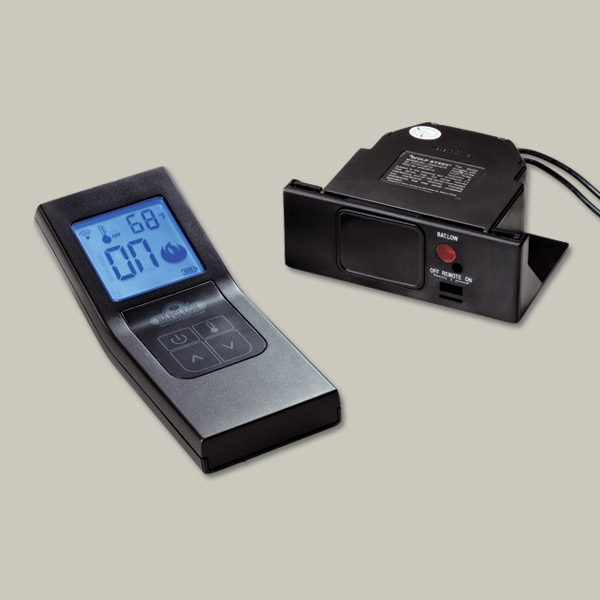 remote control for pellet stove