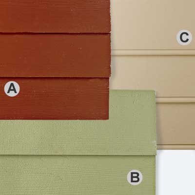 clapboard type fiber cement siding