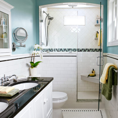 After a few feet makes the difference a bath that 39 s for Extra small bathroom designs