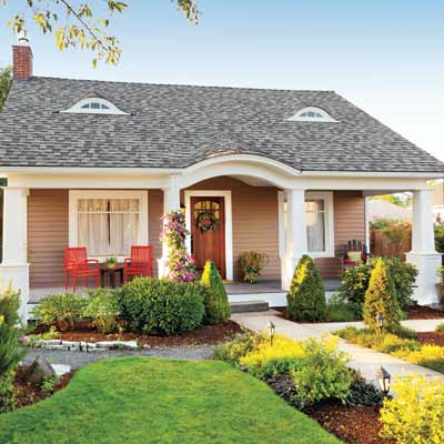 A charmer revealed after 8 smart budget curb appeal for Home exterior makeover ideas