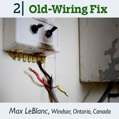 old wiring fix tip from the this old house reader remodel issue 2012