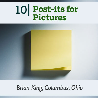 Post-its for Pictures tip from the this old house reader remodel issue 2012