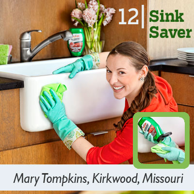 Sink Saver tip from the this old house reader remodel issue 2012