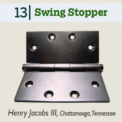 Swing Stopper tip from the this old house reader remodel issue 2012