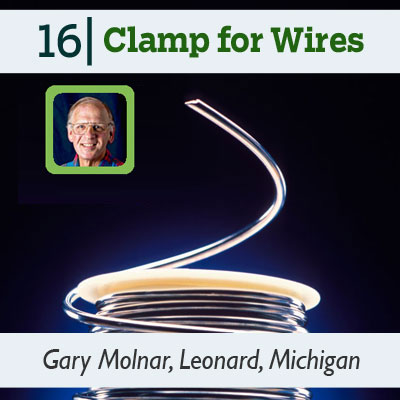 Clamp for Wires tip from the this old house reader remodel issue 2012