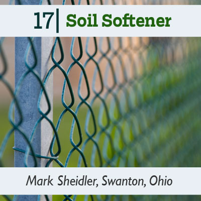 Soil Softener tip from the this old house reader remodel issue 2012