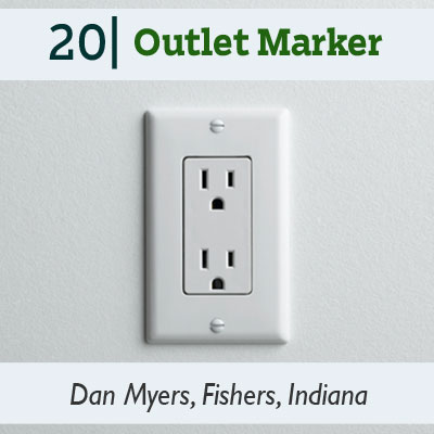 Outlet Marker tip from the this old house reader remodel issue 2012