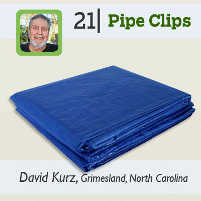 Pipe Clips tip from the this old house reader remodel issue 2012