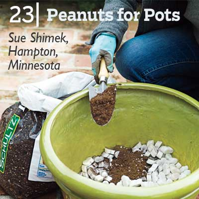 Peanuts for Pots tip from the this old house reader remodel issue 2012