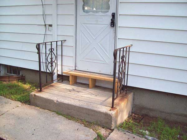 cobbled wooden door step in the this old house Home Inspection Nightmares XXVIII gallery