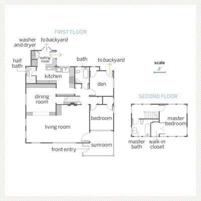 Floor Plans | A Cheery Bungalow Redo Stays True to Form | This Old ...