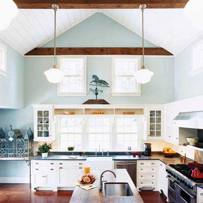 cottage-style kitchen