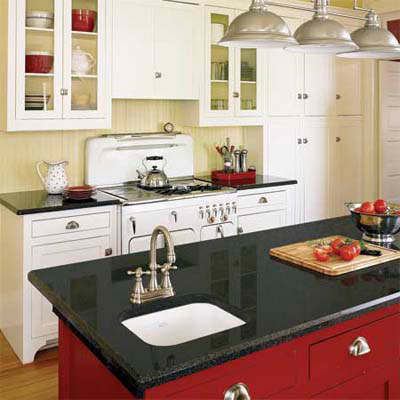 soapstone cottage-style kitchen