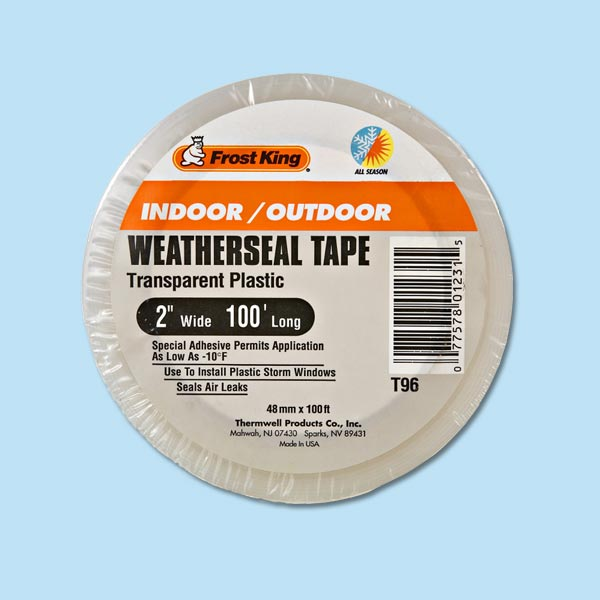weatherseal tape for storm preparation