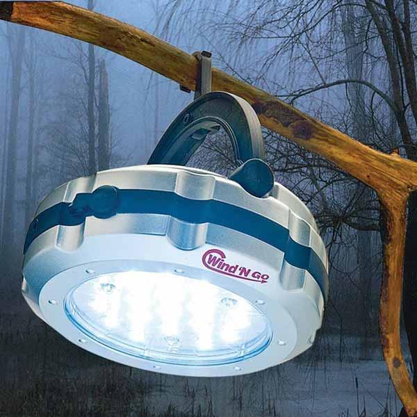 hand crank lantern for storm preparation