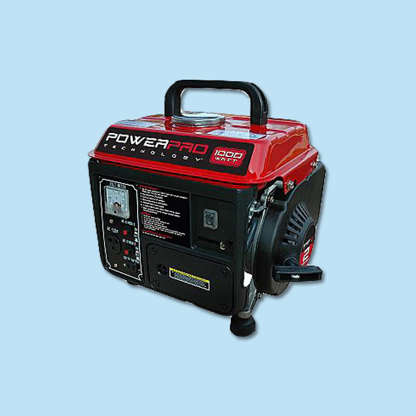 portable generator for storm preparation