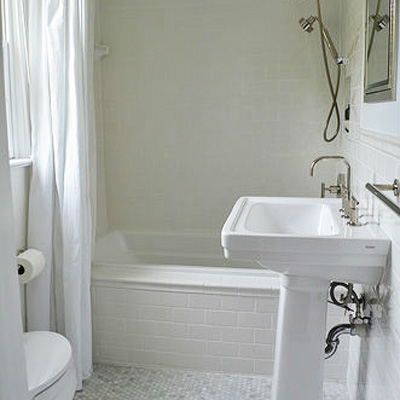 Clean and Classic: After from Best Bath Before and Afters 2012