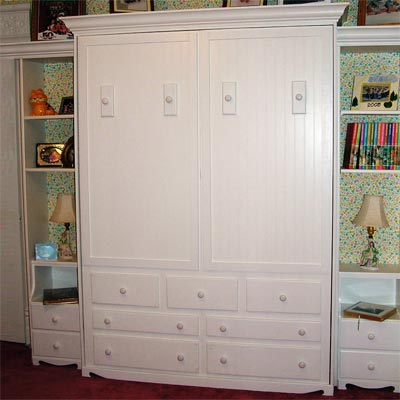 reader remodel built-in murphy bed project after