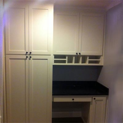 reader remodel built-in pantry project after