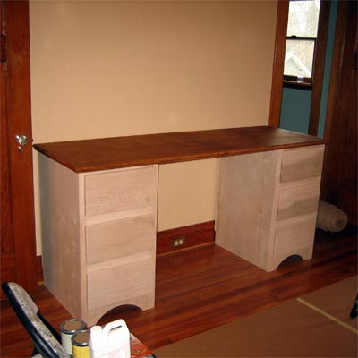 reader remodel built-in storage area project before