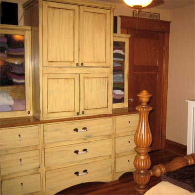 reader remodel built-in storage area project after