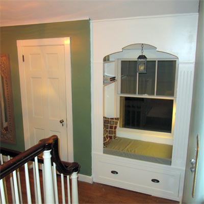 reader remodel built-in nook project after