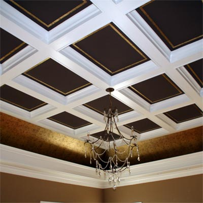 reader remodel built-in ceiling project after