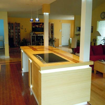 reader remodel built-in kitchen island project after