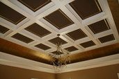 a reader remodel finished coffered ceiling