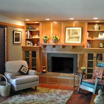 Remodel Is Closer to Dream Home: After from Best Living Spaces Before and Afters 2012