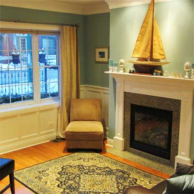 Design Is More 1890s-Appropriate: After from Best Living Spaces Before and Afters 2012