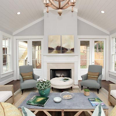 Great Space in Back of Home: After from Best Living Spaces Before and Afters 2012
