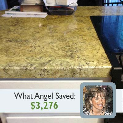 Faux Granite Countertops Cost : Fabricating Faux-Granite Countertops for this old house reader remodel ...