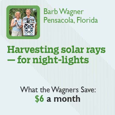 Cheap Feat: Harvesting Solar Rays for Night-Lights for this old house reader remodel cheapskate hall of fame 2012