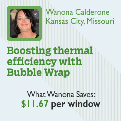 Boosting Thermal Efficiency with Bubble Wrap for this old house reader remodel cheapskate hall of fame 2012