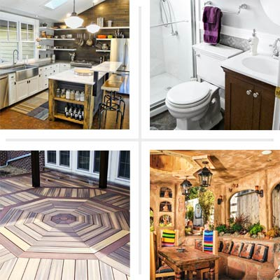 composite of Reader Remodel 2012 Moxie Award winner projects