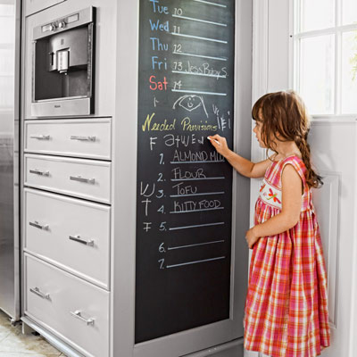 after image for TOH Reader Remodel Kitchen Winner 2012 chalkboard wall 