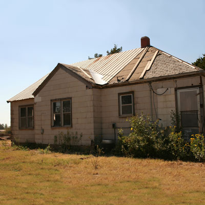 Restoring an Old Farmhouse: Before image for TOH Reader Remodel 2012