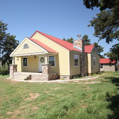 Restoring an Old Farmhouse: After image for TOH Reader Remodel 2012