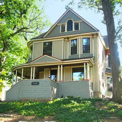 A Condemned Queen Anne Reborn: After image for TOH Reader Remodel 2012
