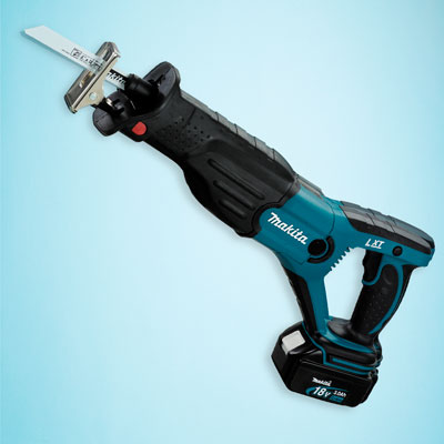 a Makita cordless reciprocating saw