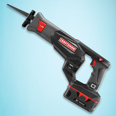 a Craftsman cordless reciprocating saw