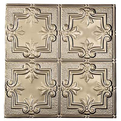 brass ceiling tile