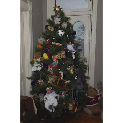 Toy-decorated Tree