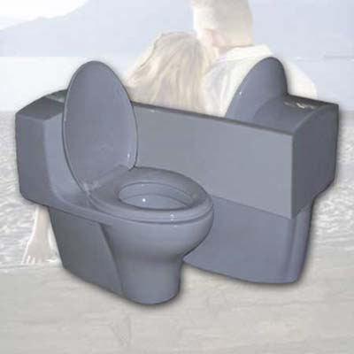 toilet for two